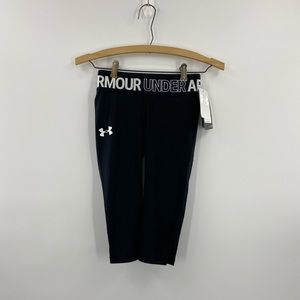 Black Under Armour  HeatGear Fitted Legging Size S